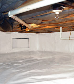 A complete crawl space repair system in St Catharines