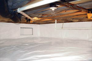Crawl Space Repair After in Oakville
