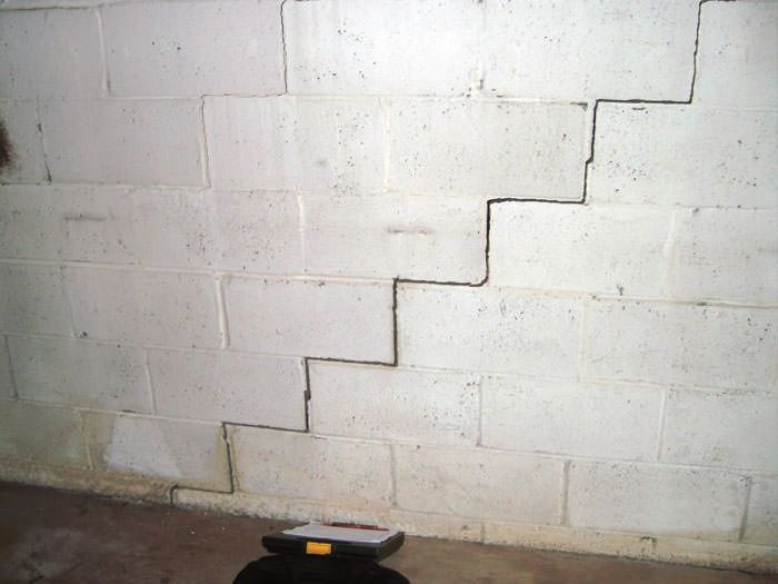 Bowing Foundation Wall Repairs In Ontario   Buckling