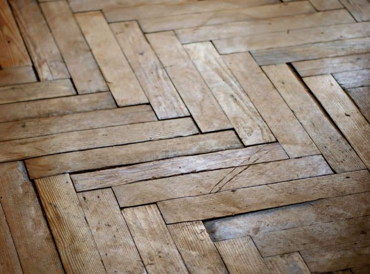 A Port Colborne Buckling Wood Floor