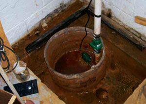 Extreme clogging and rust in a Welland sump pump system