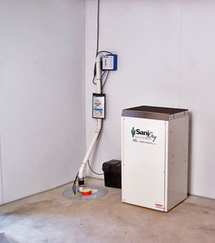 Basement Waterproofing Perimeter System & dehumidifier in Hamilton