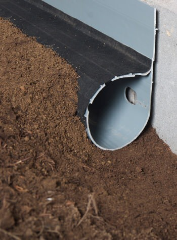 crawl space drain system installed in New Hamburg