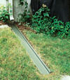 gutter drain extension installed in Acton, Ontario